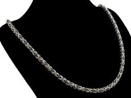 Bizantyna - łańcuszek srebrny