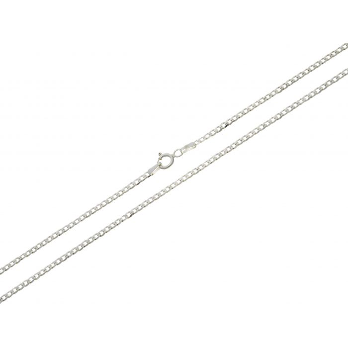 Pancerka 2mm - łańcuszek srebrny