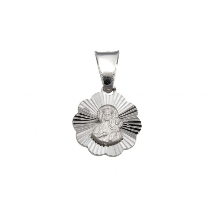 Srebrny medalik - Matka Boska Częstochowska