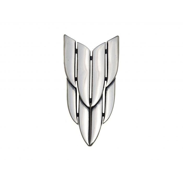Wisiorek srebrny - wilcza kryza