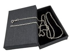 Ankier 2mm - srebrny łańcuszek męski