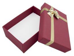 Pudełeczko prezentowe na biżuterię 82x56x30
