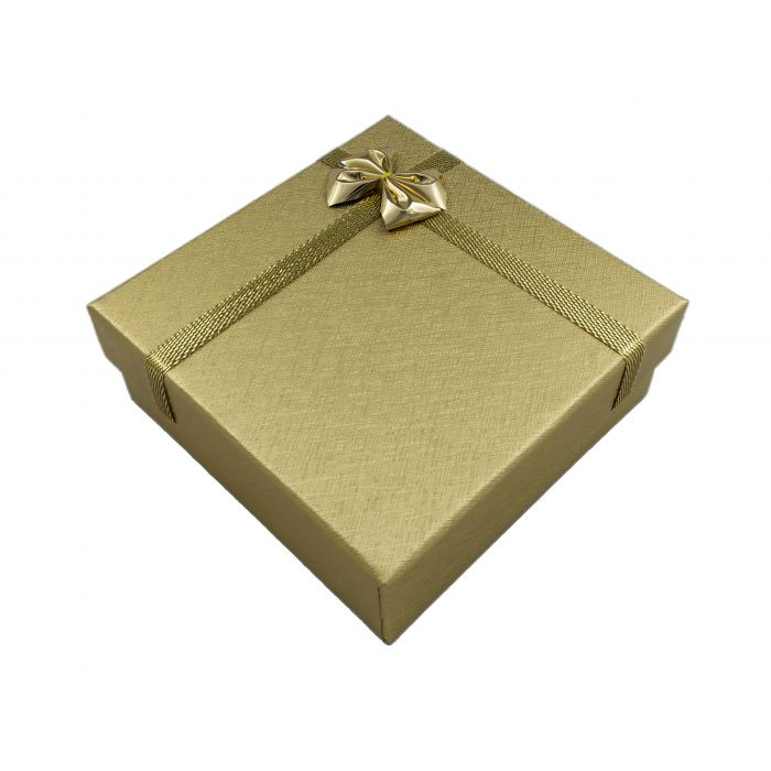 Pudełeczko prezentowe na biżuterię 86x86x32