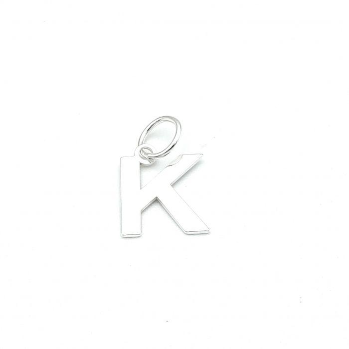 Wisiorek srebrny literka K