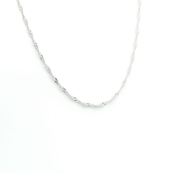 Singapur - srebrny łańcuszek damski