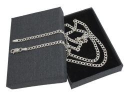 Pancerka 3mm - srebrny łańcuszek męski