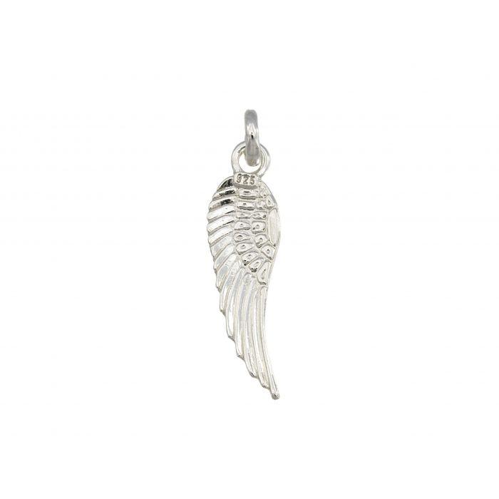 Wisiorek srebrny w kształcie skrzydełka